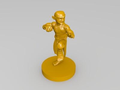 武士人物摆件合集-3d打印模型