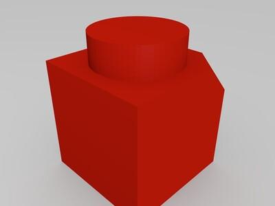 測試用方塊-3d打印模型