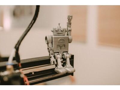 可动机器人2号-3d打印模型