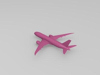 最新版梦想客机波音787-3d打印模型