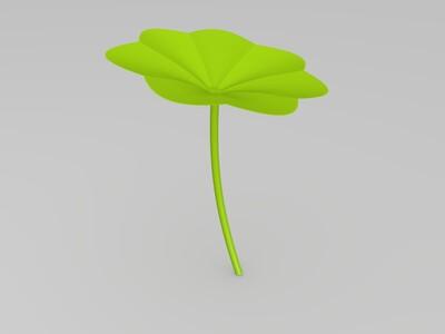 荷叶-3d打印模型