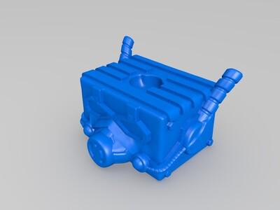 盒子蚁人(囧)复仇者-3d打印模型