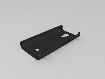 小米手机红米2 NOTE手机防滑套-3d打印模型