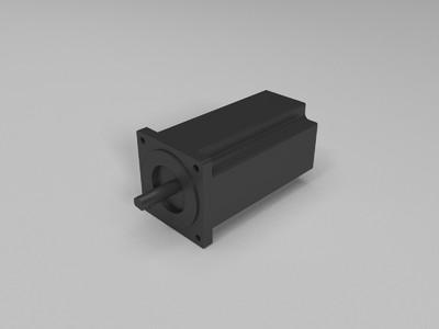 86步步进电机-3d打印模型