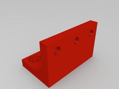 支撑合页-3d打印模型
