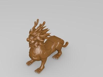 貔貅摆件-3d打印模型