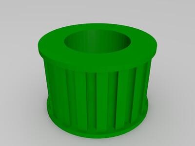 8m同步轮适用大型打印机研制-3d打印模型