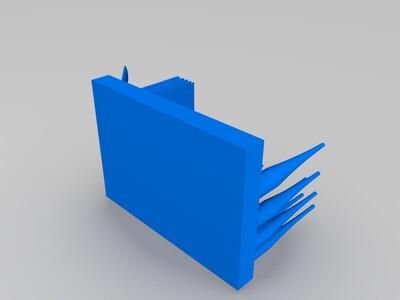 三维打印基准测试-3d打印模型