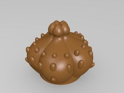 妙蛙花盆-3d打印模型