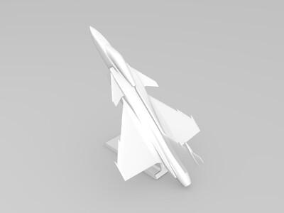 萨博的鹰狮战斗机-3d打印模型