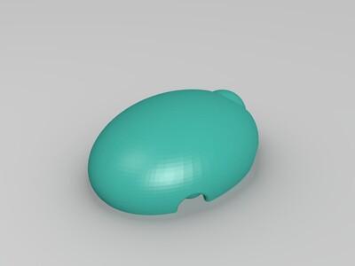 会动的乌龟 -3d打印模型