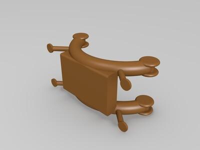 料盘料架-3d打印模型