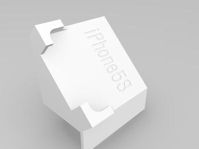 iPhone5S手机支架-3d打印模型