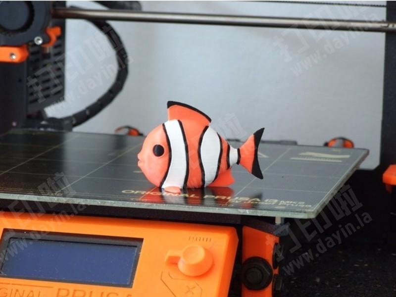 小丑鱼(多色打印)-3d打印模型
