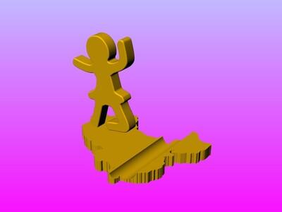 天鹅湖手机架-3d打印模型