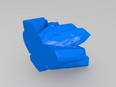 《权利的游戏》夜王-3d打印模型