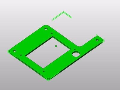 显示器支架-3d打印模型