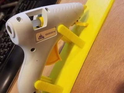 热熔枪支架-3d打印模型