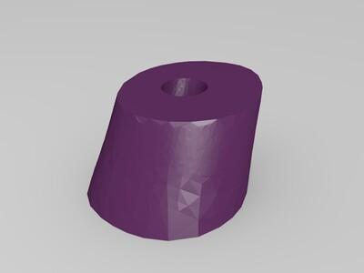 达菲鸭-3d打印模型