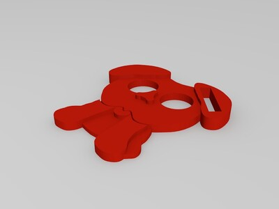 狗狗牌子-3d打印模型