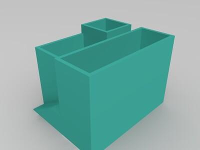 建筑花盆-3d打印模型