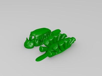 《龙猫》----猫巴士-3d打印模型