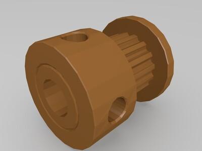 同步带轮-3d打印模型