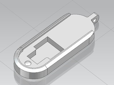 手机USB转换头收纳盒-3d打印模型