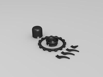 小UFO-3d打印模型