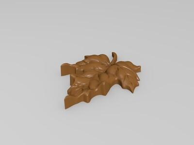 树叶-3d打印模型
