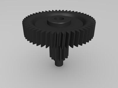 小齿轮-3d打印模型