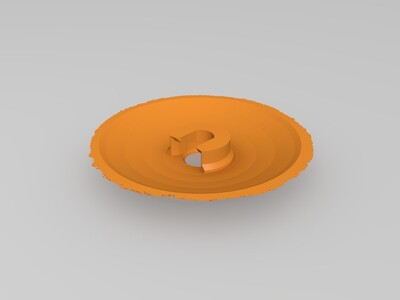 月球灯130mm(80 100 130 150 180 )-3d打印模型