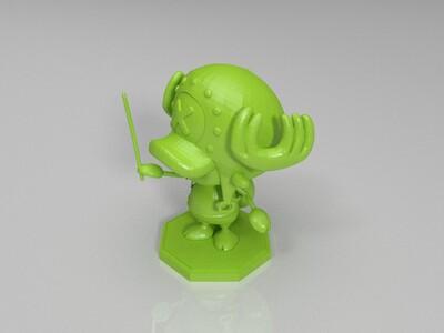 托尼托尼·乔巴-3d打印模型