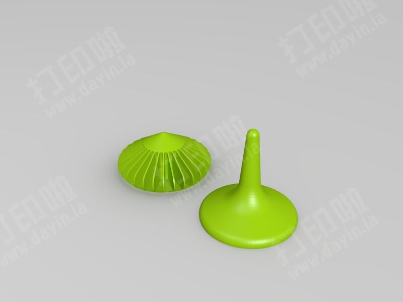 小陀螺-3d打印模型