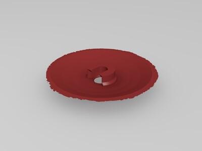 月球灯150mm(80 100 130 150 180)mm都有-3d打印模型