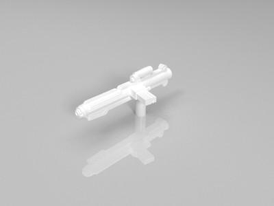 机关枪-3d打印模型
