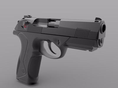 Px4手枪-3d打印模型