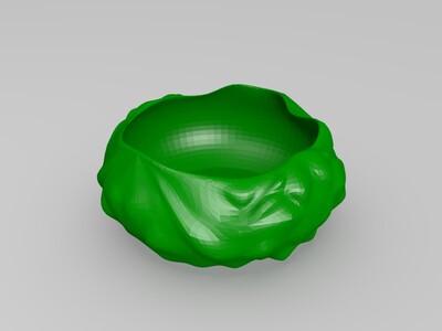 花盆-3d打印模型
