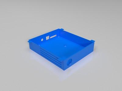 chitu   赤兔主板带风扇保护壳 +3.5寸显示屏窗口-3d打印模型