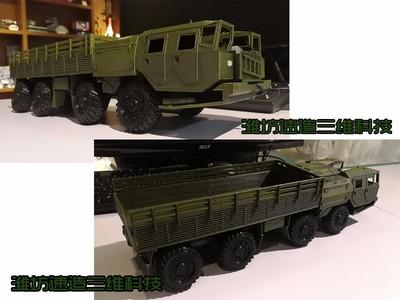 前苏联MAZ-7410重型卡车-3d打印模型