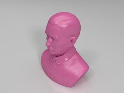 孙中山-3d打印模型