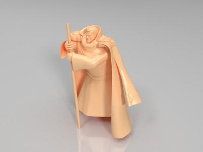 海贼王海军藤虎一笑-3d打印模型