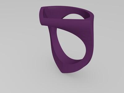 戒指框-3d打印模型