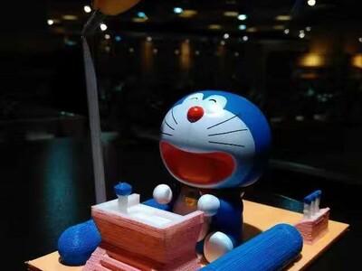 机器猫时光机-3d打印模型