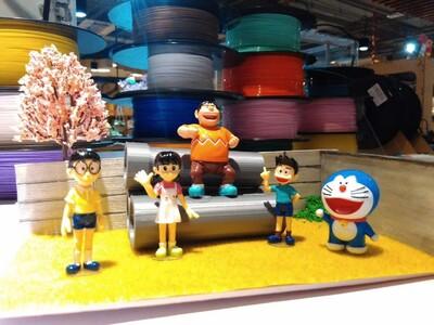 哆啦A梦小场景-3d打印模型