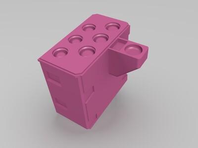 1号高达机器人-3d打印模型