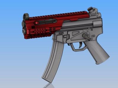 覆刻 stinger-R36弹 电动气枪-3d打印模型