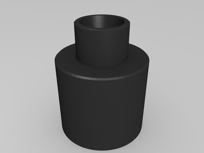 IEC711 人工耳 电声测试仪 前腔-3d打印模型