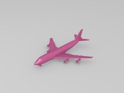 客机-3d打印模型