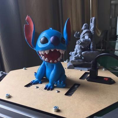 迪士尼的星际宝贝-3d打印模型